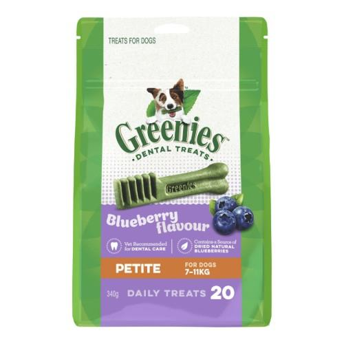 Greenies Blueberry Dental Treats Petite 340g