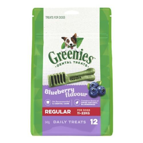 Greenies Blueberry Dental Treats Regular 340g