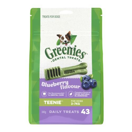 Greenies Blueberry Dental Treats Teenie 340g