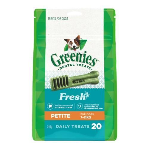 Greenies Fresh Mint Dental Treats Petite 340g