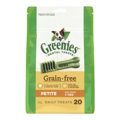 Greenies Grain Free Dental Treats Petite 340g