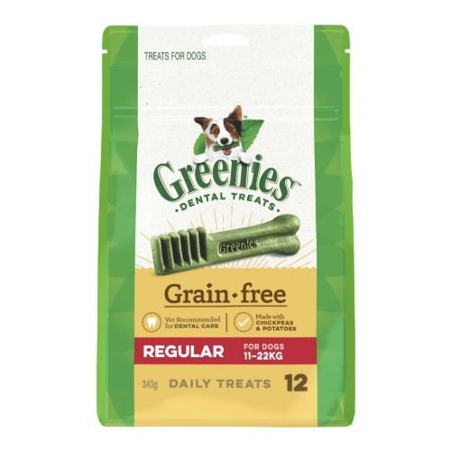 Greenies Grain Free Dental Treats Regular 340g