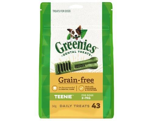 Greenies Grain Free Dental Treats Teenie 340g
