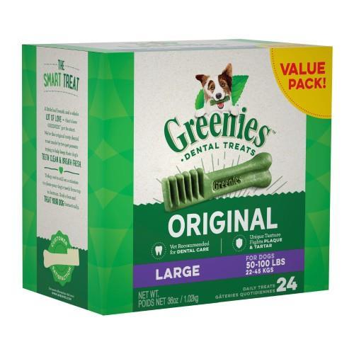 Greenies Original Dental Treats Large 1kg