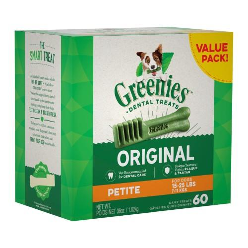 Greenies Original Dental Treats Petite 1kg