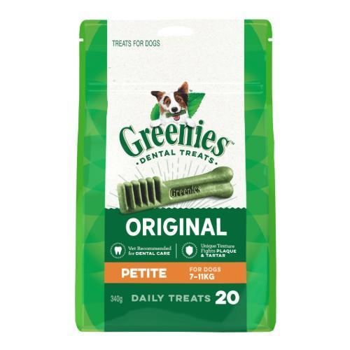 Greenies Original Dental Treats Petite 340g