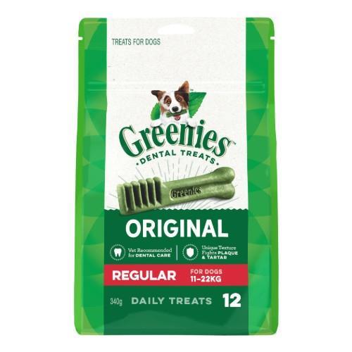 Greenies Original Dental Treats Regular 340g
