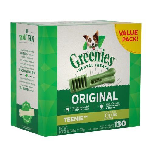 Greenies Original Dental Treats Teenie 1kg