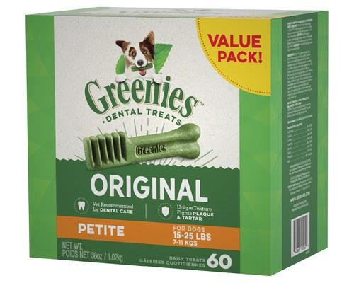 Greenies Original Value Pack Petite 1kg