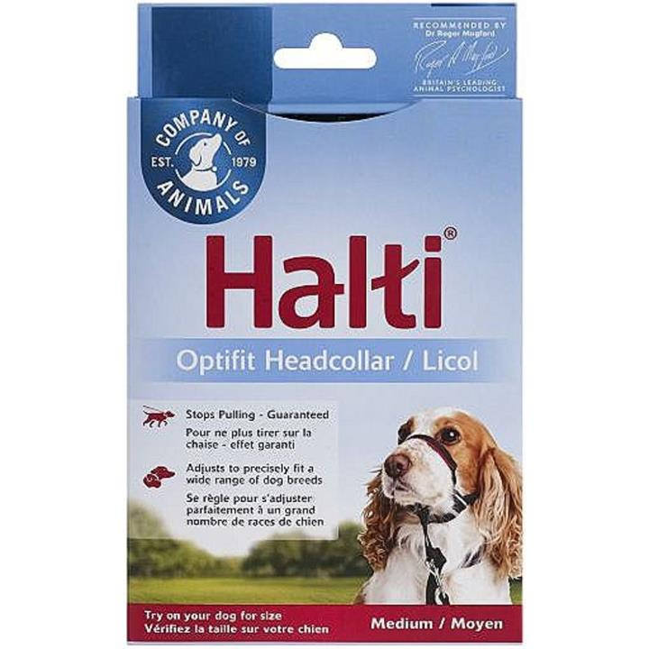 Halti Optifit Dog Training Head Collar Medium