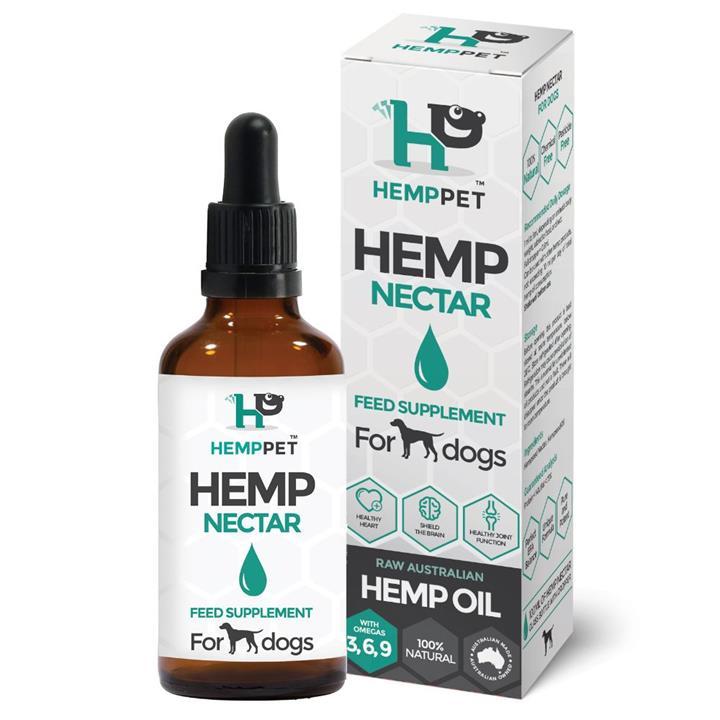 HempPet Hempseed Nectar Feed Supplement for Dogs 100ml