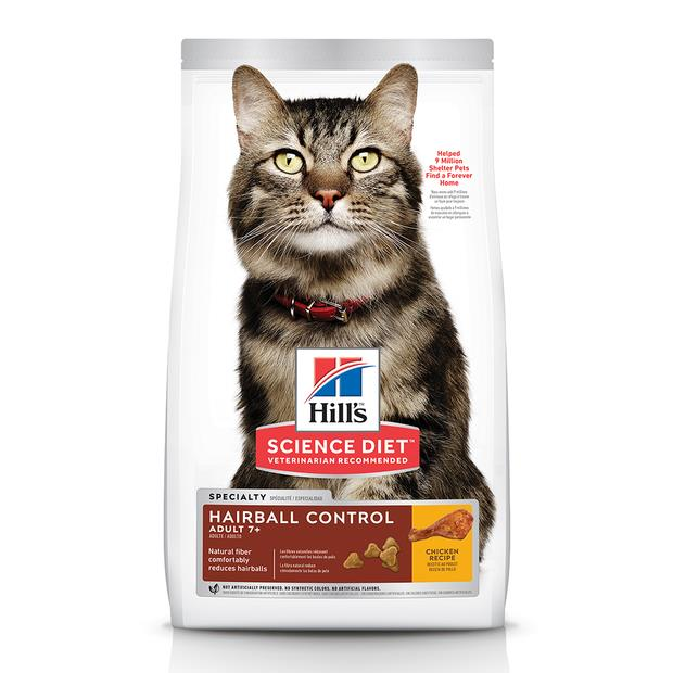 Hills Feline Mature Adult Hairball Control 4kg