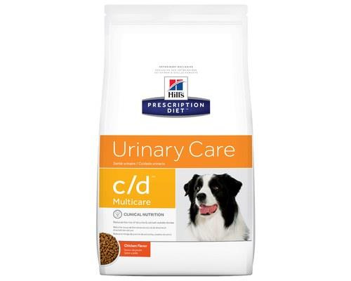 Hill's Prescription Diet C/d Multicare Urinary Care Dry Dog Food Chicken Flavour 7.98kg