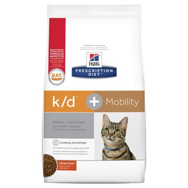 Hills Prescription Diet Feline Kd Mobility Chicken 2 X 2.88kg
