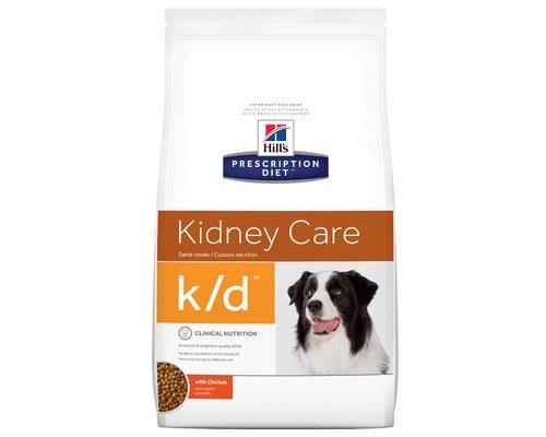 Hill's Prescription Diet K/d Kidney Care Dry Dog Food With Chicken 3.85kg