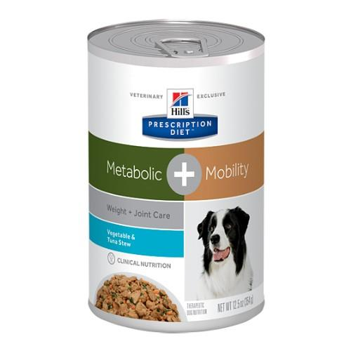 Hills Prescription Diet Metabolic Plus Mobility Canned Dog Food...