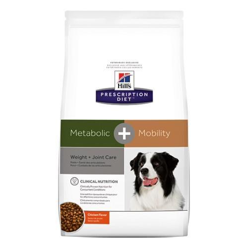 Hills Prescription Diet Metabolic Plus Mobility Dry Dog Food 3.86kg