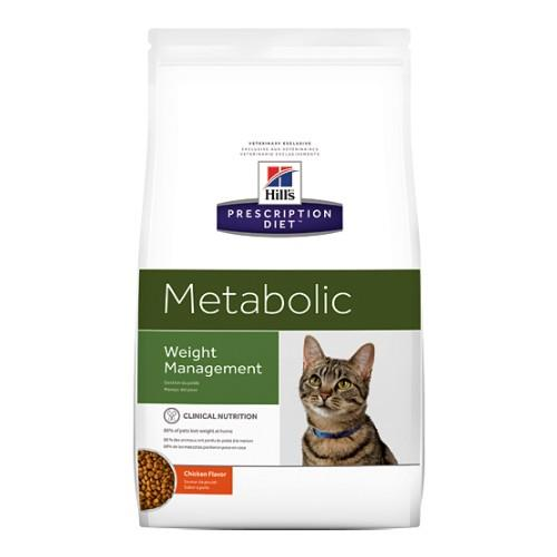 Hills Prescription Diet Metabolic Weight Management Dry Cat Food...