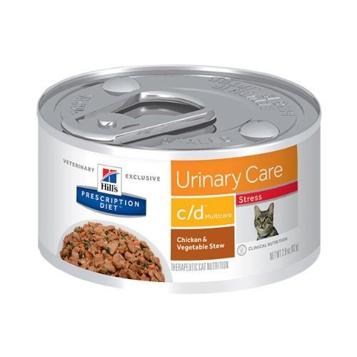 Hills Prescription Diet c/d Multicare Urinary Stress Chicken &......