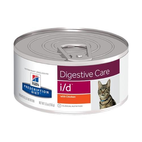 Hills Prescription Diet i/d Digestive Care Canned Cat Food 24x156g
