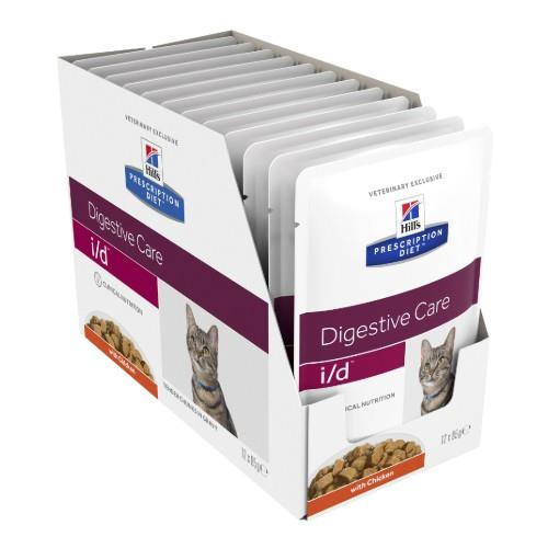 Hills Prescription Diet i/d Digestive Care Pouches 12x85g