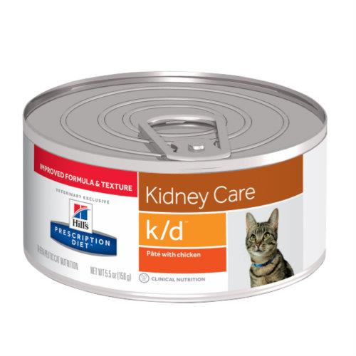 Hills Prescription Diet k/d Kidney Care Chicken Pate Canned Cat...
