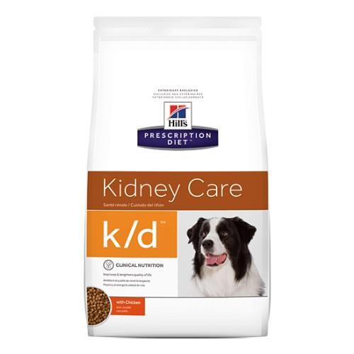 Hills Prescription Diet k/d Kidney Care Dry Dog Food 3.85kg