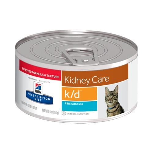 Hills Prescription Diet k/d Kidney Care Tuna Pate Canned Cat Food...