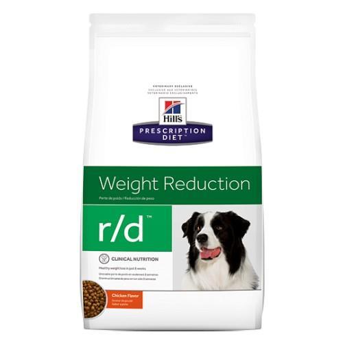 Hills Prescription Diet r/d Weight Reduction Dry Dog Food 3.85kg