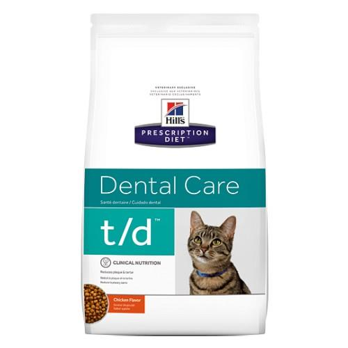 Hills Prescription Diet t/d Dental Care Dry Cat Food 1.5kg