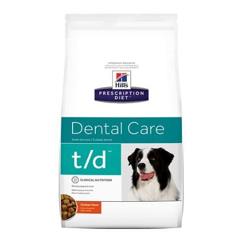 Hills Prescription Diet t/d Dental Care Dry Dog Food 11.3kg
