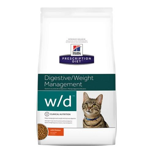Hills Prescription Diet w/d Digestive Weight Management Dry Cat...