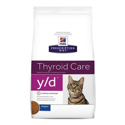 Hills Prescription Diet y/d Thyroid Care Dry Cat Food 1.8kg