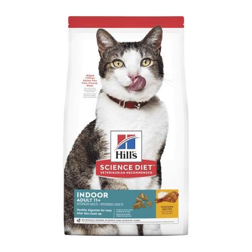 Hills Science Diet Adult Cat 11+ Indoor 3.17kg