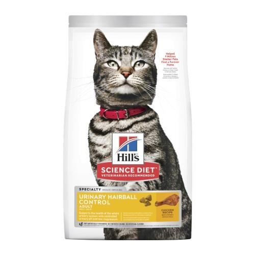 Hills Science Diet Adult Cat Urinary Hairball Control 3.17kg