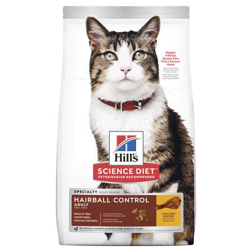 Hill's Science Diet Adult Hairball Control Dry Cat Food 4kg