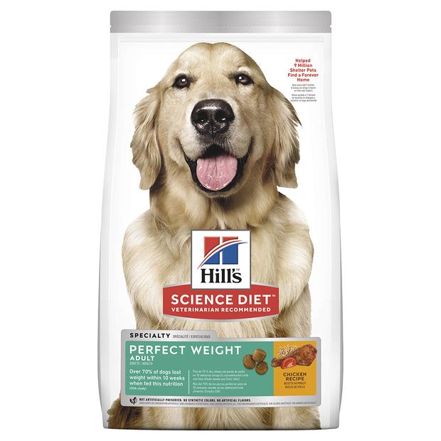 Hills Science Diet Adult Perfect Weight Dry Dog Food 12.8kg