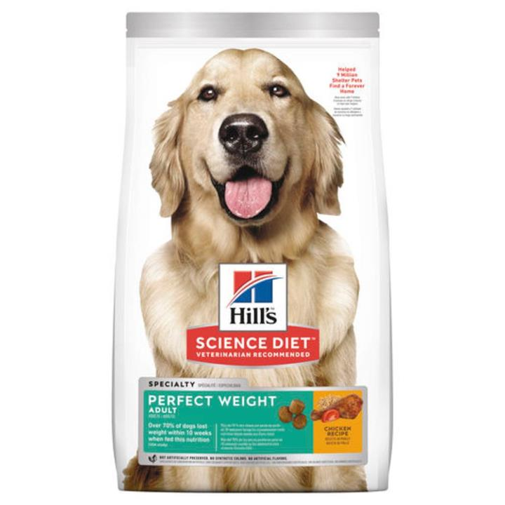 Hill's Science Diet Adult Perfect Weight Dry Dog Food 12.9kg