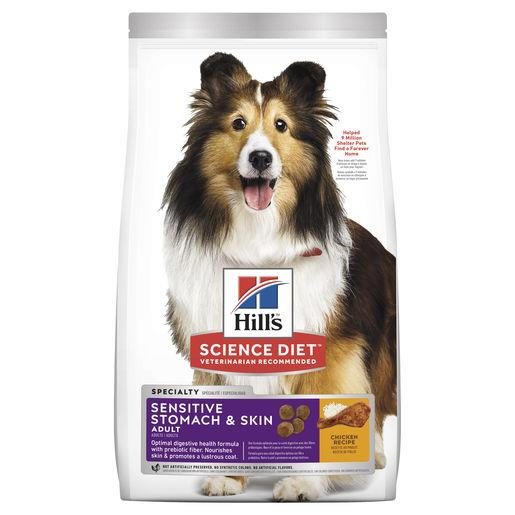 Hill's Science Diet Adult Sensitive Stomach & Skin Dry Dog Food 12kg