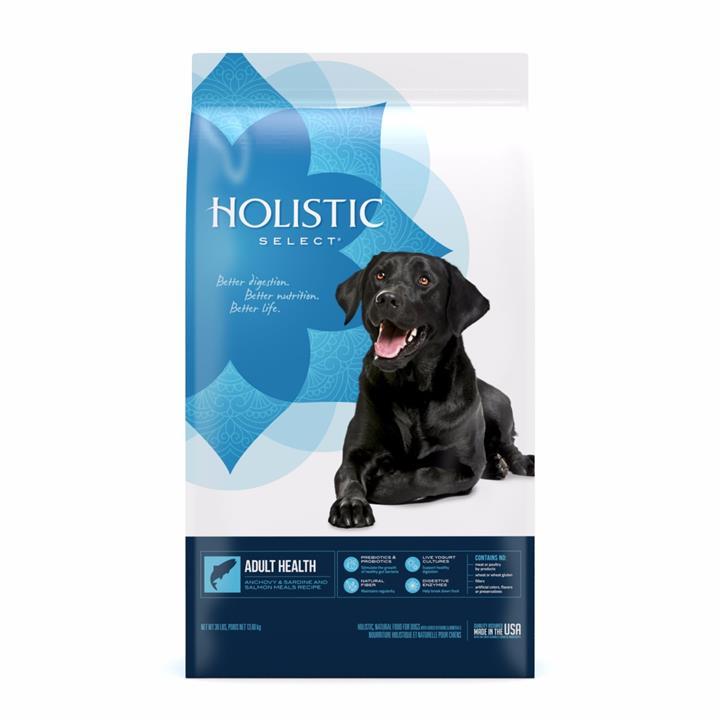 Holistic Select Dog Food Anchovy, Sardine & Salmon 13.6kg