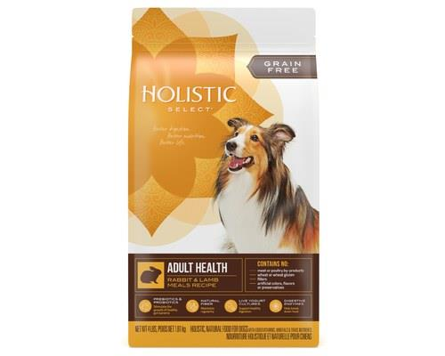 Holistic Select Grain Free Dry Dog Food Rabbit And Lamb Adult 1.81kg