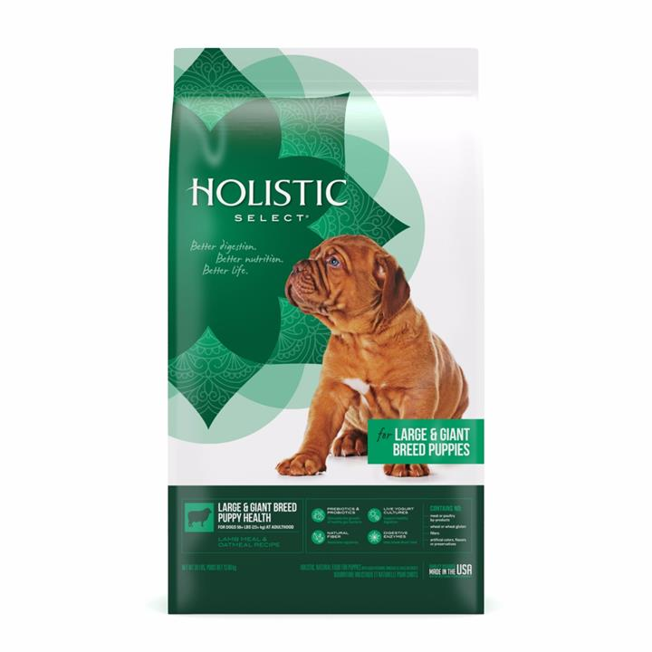 Holistic Select Puppy Food Large and Giant Breed 13.6kg