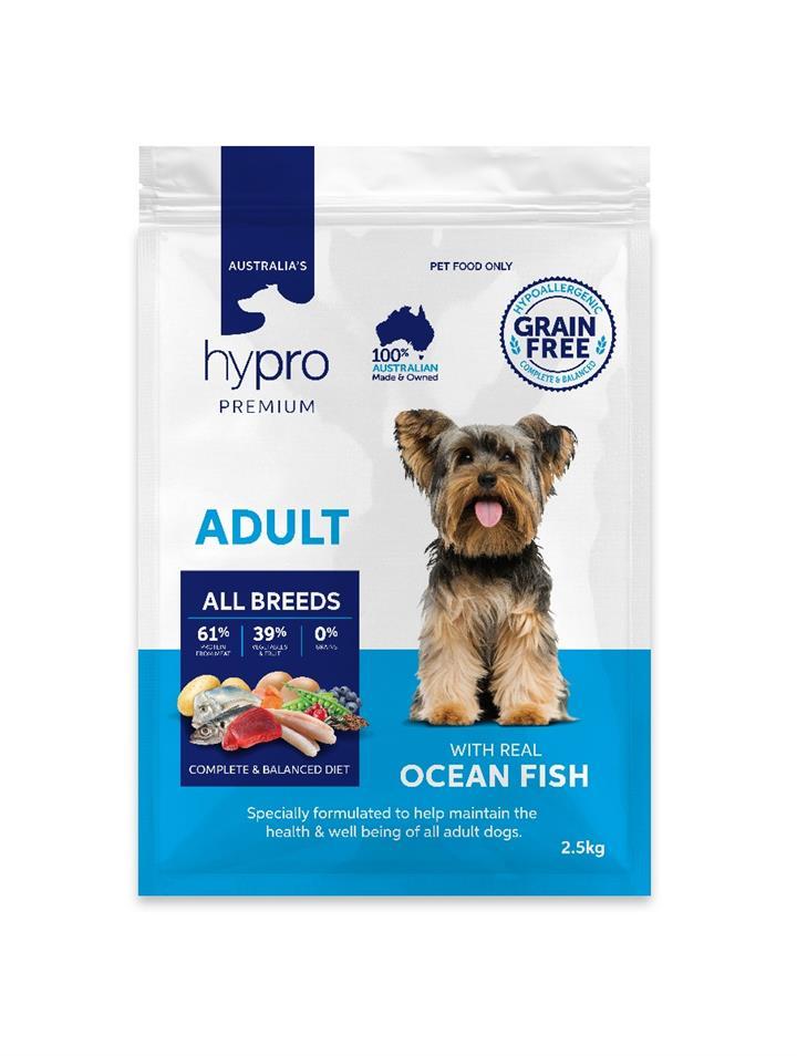 Hypro Premium Ocean Fish Adult Dog Food
