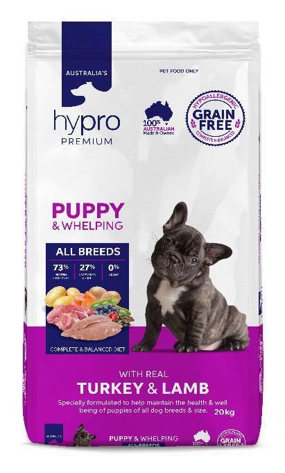 Hypro Premium Turkey & Lamb Puppy Food 20kg