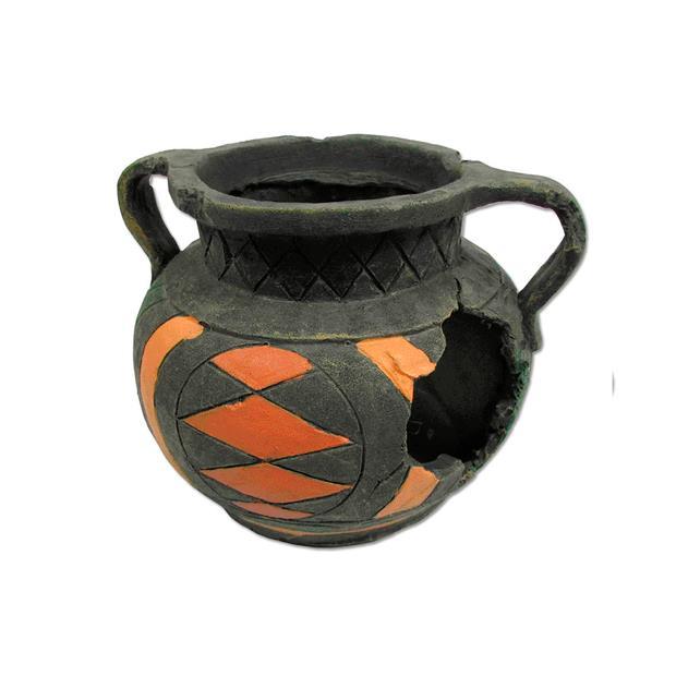 Ipetz Broken Round Pot Each