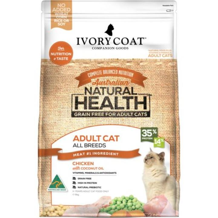 Ivory Coat Adult Chicken & Coconut Cat Food 6kg