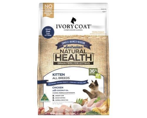 Ivory Coat Grain Free Dry Cat Food Chicken Kitten 3kg