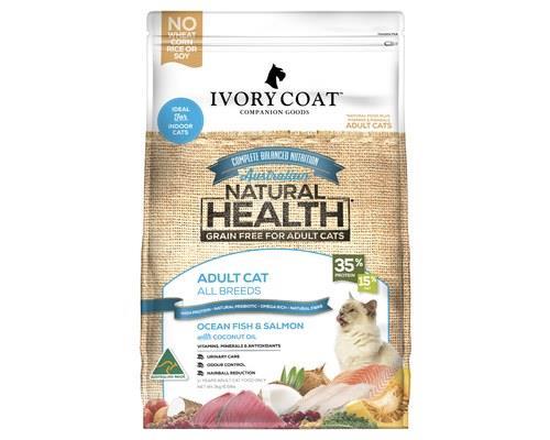Ivory Coat Grain Free Dry Cat Food Ocean Fish And Salmon Adult 3kg