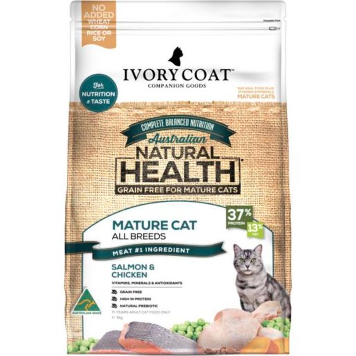 Ivory Coat Mature Adult OceanFish & Chicken Cat Food 3kg