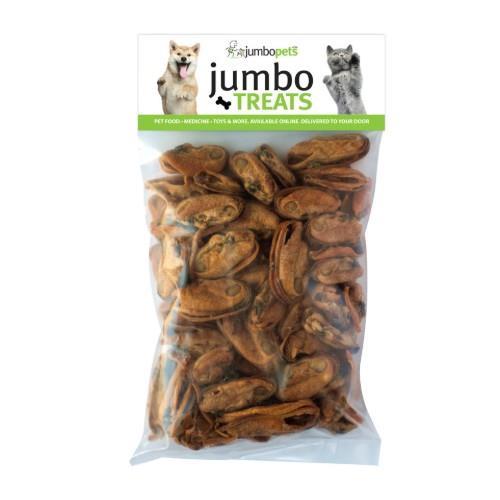 Jumbo Pets Jumbo Treats Green Lipped Mussels 100g